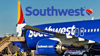 First Southwest MAX 8 Arriving & Departing BUR!