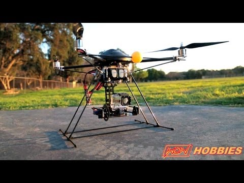DJI Phantom, Turbo Ace X830 or Gaui 500 quadrocopter review