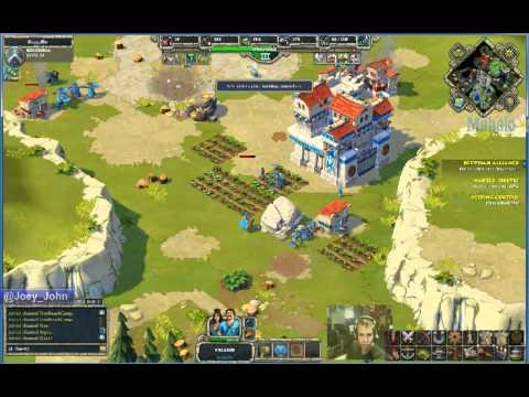 Age of Empires Online Walkthrough - Pt.107 Greek - Egyptian Alliance (II)