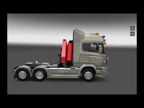 ETS 2 - Scania mega mod **outdated**