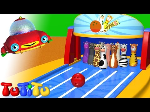 TuTiTu Toys | Animal Bowling