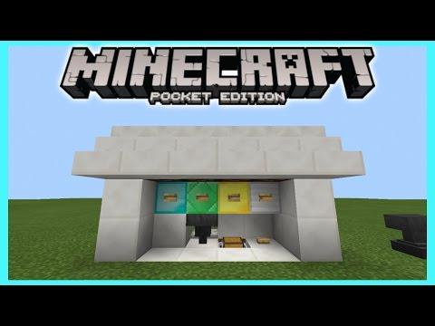 สอนทำตู้ ATM ถอนเงินได้ด้วย - ATM in MCPE | Minecraft PE