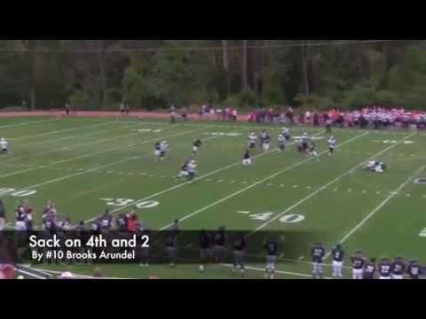 The Potomac School vs  Flint Hill Varsity Football - 10/21/2014