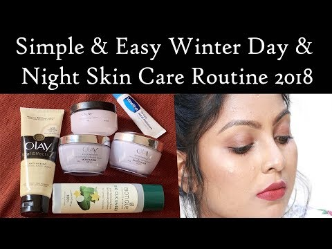 My winter skin care Day & Night routine 2018 for Dry Skin ( All Skin Types) -Tamil