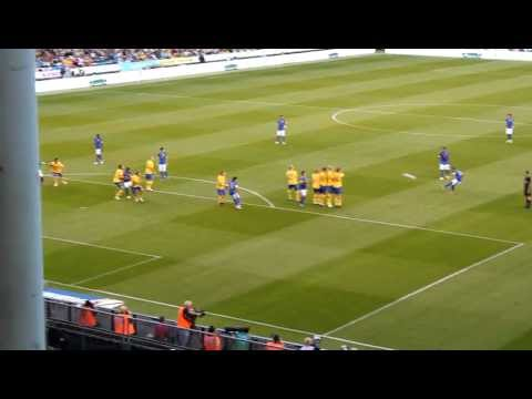 Sweden 0-3 Brazil full HD Daniel Alves FREE KICK 2012