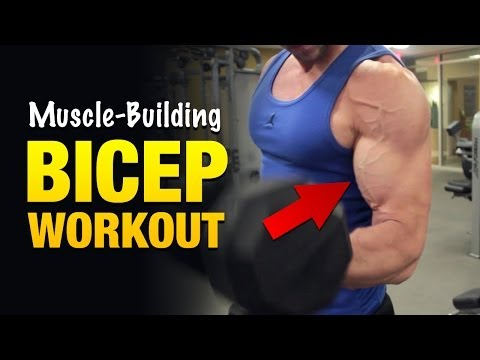 Bicep Workouts: Get Freaky Huge Biceps With This Vein-pumping Arm Workout video
