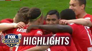 Hertha Berlin vs. RB Leipzig | 2016-17 Bundesliga Highlights