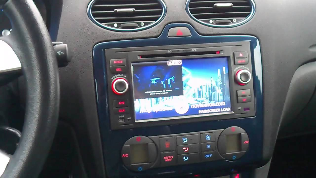 Radio Sony Ford Focus Mk2 Instrukcja