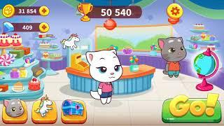 video game#kids game #Talking Tom Candy Run# 09092018 game wfk #GAME WORLD FOR KIDS