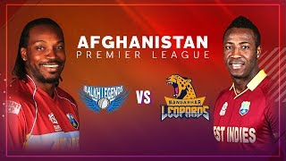 APLT20 2018 M9: Balkh Legends v Nangarhar Leopards Live Stream, Afghanistan Premier League T20