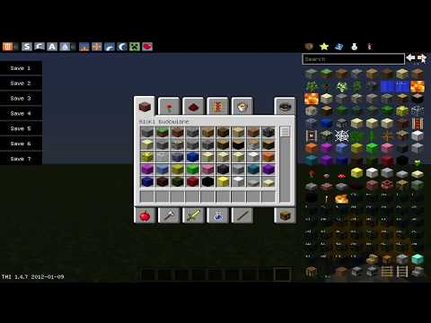 Minecraft Mody : Too many items 1.6.4 (PL)