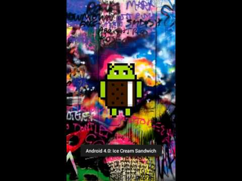 NyanDroid - Android Ice Cream Sandwich 4.0.4 Easter Egg