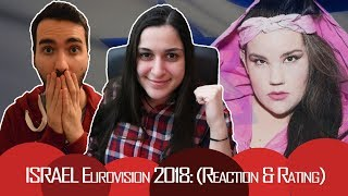 """ISRAEL Eurovision 2018: Reaction and Rating (Netta - """"Toy"""")"""