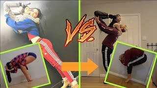 RECREATING GIRLFRIENDS DANCE PICTURES/VIDEOS!! (Acrobatics)