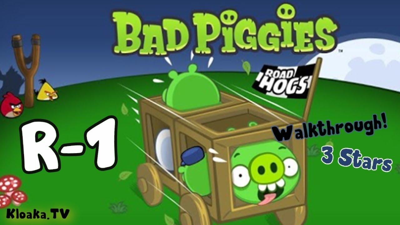 Bad Road Bad Piggies R-1 Road Hogs