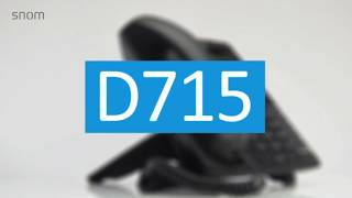 Snom D715 - VoIP Phone (French)