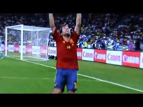 Euro 2012 Final Spain v Italy Jordi Alba's goal 2-0