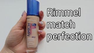 Тональный крем rimmel match perfection тест драйв