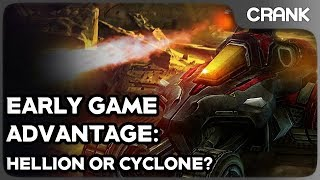 Early Game Advantage: Hellion or Cyclone?- Crank's StarCraft 2 Variety!