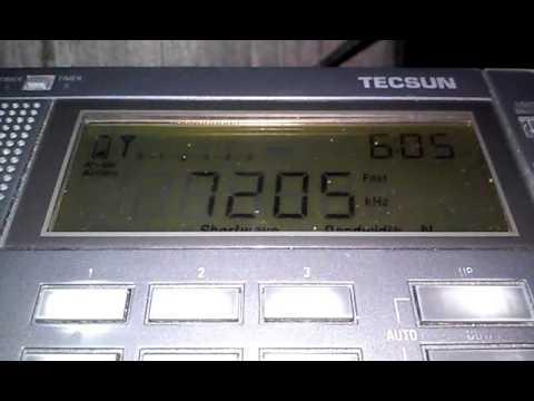 7205 kHz Radio Republic of Sudan