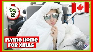 Flying Home | Vlogmas 22