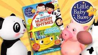 Little Baby Bum Magazine! Lots Of Activities!   Nursery Rhyme Friends