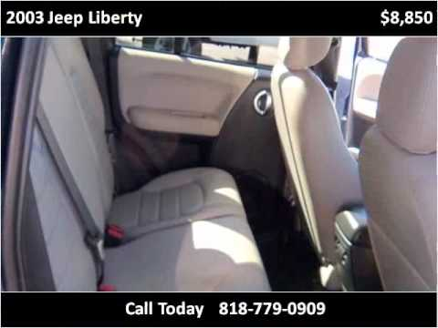 2003 Jeep Liberty Used Cars Van Nuys CA