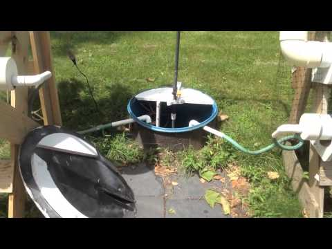 Hydroponic vegetable growing system-