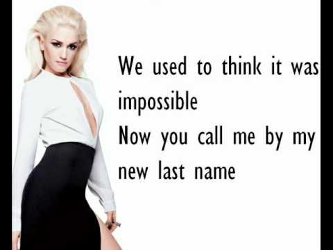 Letra Cool - Gwen Stefani video
