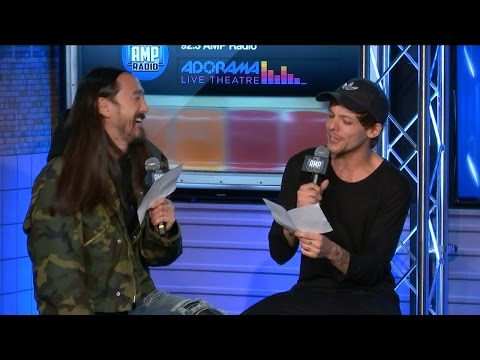 Steve Aoki & Louis Tomlinson Interview Each Other (With Accents)