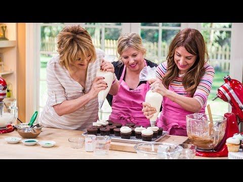 Home &amp  Family   Georgetown Cupcake's Irish Cream Chocolate Cupcake Recipe