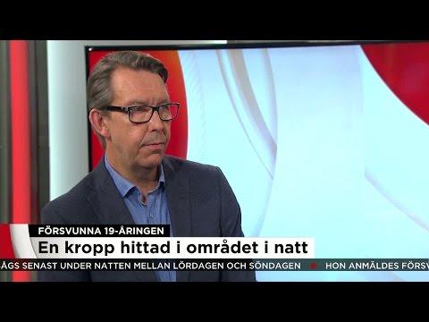"""Hasse Aro om att en kropp hittats: """"Mycket talar för att det är hon"""" - Nyheterna (TV4)"""