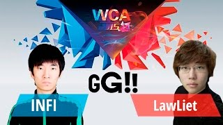 INFI vs LawLiet PLAYOFF World Cyber Arena 2015