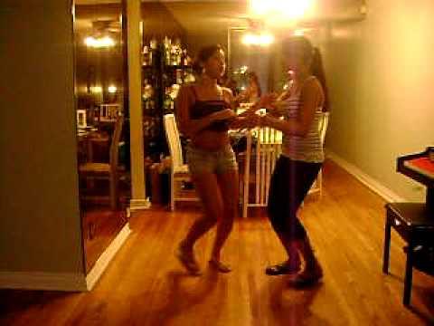Jessi Y Ana Bailando Bachata - Yo no Pido Video
