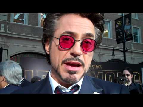 Robert Downey Jr. at the
