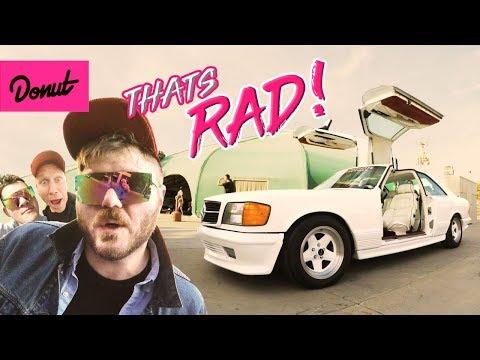 That's Rad! - Radwood 80s/90s Car Show | Donut Media