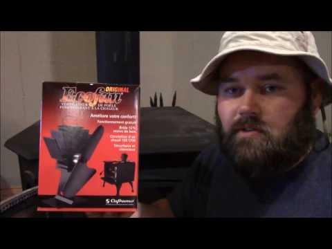 Ecofan fan review (No electricity fan)