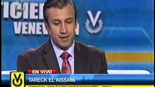 Entrevista Venevisión: Tareck El Aissami, vicepresidente de región centro-occidental del PSUV