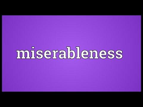 Header of miserableness