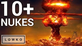 StarCraft 2: DIFFERENT TYPES OF TACTICAL NUKES!