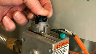 Hot Water Tank Pilot Light - Quadrant Homes How-to Tip