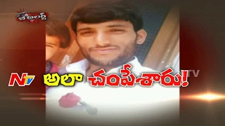 Shocking Accident : Truck Hits Man || Man Passes Away in Hyderabad || Be Alert || NTV
