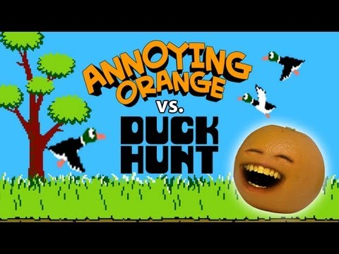 Annoying Orange - Annoying Orange vs Duck Hunt