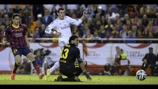 Gareth Bale Amazing Goal - Barcelona vs Real Madrid 1-2 | Copa Del Rey Final 13/14 | [Cropped]