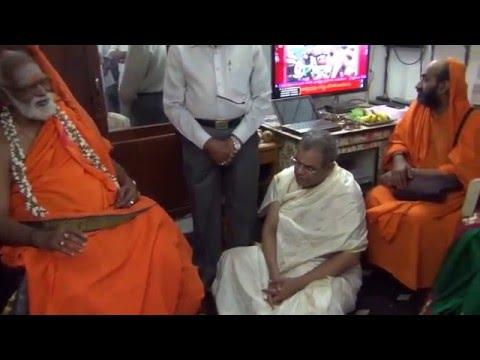 Courtallam Swamiji Discource in our Machilipatnam House 02 02 2016