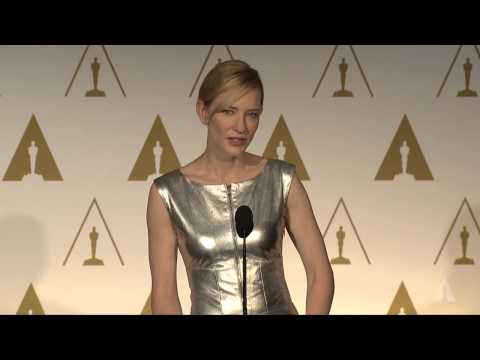 Cate Blanchett at the 86th Oscars® Nominees Luncheon
