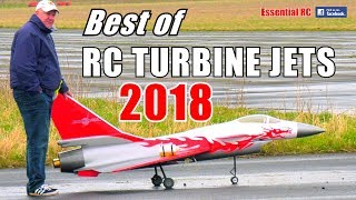 ① BEST of RC TURBINE JETS 2018 ! GIANT SCALE RC JET ACTION COMPILATION