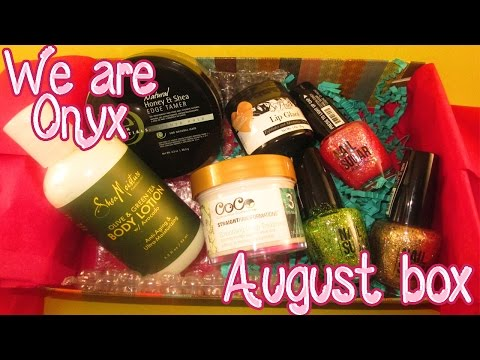 We are onyx AUGUST BOX│Tamekans