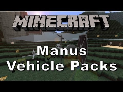 Minecraft Mods 1.6.1 - Manus Vehicle Pack/ Flans Mod [Deutsch] [HD]