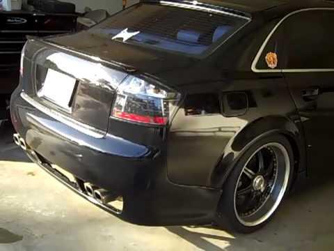 2003 Audi A4 3 0 Custom Exhaust Sound Youtube